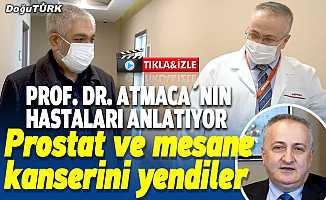 Prof. Dr. Atmaca'nın hastaları kanseri nasıl yendiğini anlatıyor
