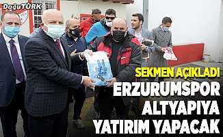 BB Erzurumspor altyapıya yatırım yapacak