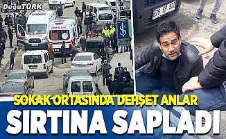 Erzurum'da dehşet anlar; sırtından bıçaklandı