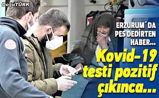 Kovid-19 testi pozitif çıkınca evden attılar…