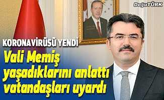 Kovid-19'u yenen Erzurum Valisi Okay Memiş'ten açıklaması