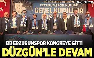 BB Erzurumspor 'Düzgün ile devam' dedi