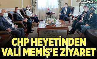 CHP Genel Başkan Yardımcısı İlgezdi, Vali Memiş'i ziyaret etti