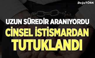 Erzurum'da cinsel istismardan tutuklandı