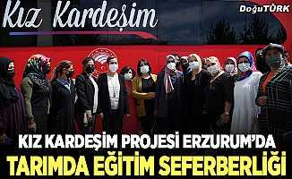 'Kız Kardeşim Projesi' Erzurum'da…