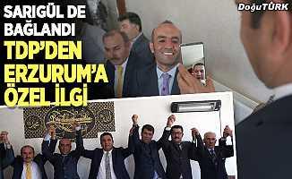 TDP Genel Başkan Yardımcısı Gökçe, Erzurum'da partililerle bir araya geldi