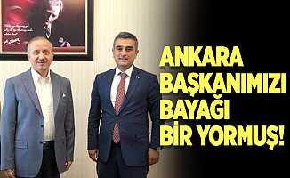 Ankara başkanımızı bayağı bir yormuş!