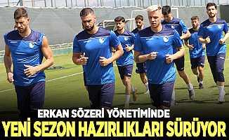 BB Erzurumspor, yeni sezon hazırlıklarını sürdürüyor