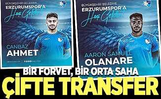BB Erzurumspor'dan iki transfer daha