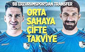 BB Erzurumspor'dan orta sahaya çifte takviye