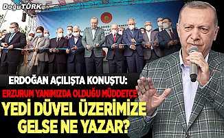 Erdoğan: Bizim arkamızda 19 yıllık eser ve hizmet müktesebatımız var