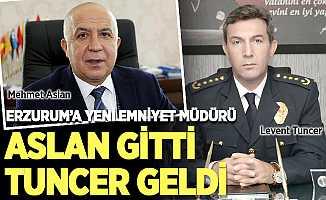 Erzurum'un Emniyet Müdürü değişti