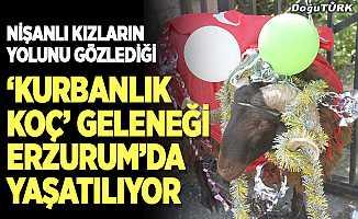 'Kurbanlık Koç' geleneği Erzurum'da yaşatılıyor