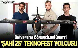 'Şahi 25' Teknofest yolcusu