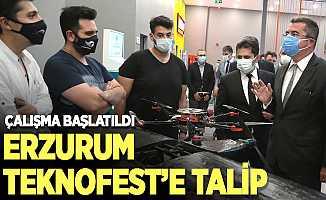 TEKNOFEST'in Erzurum'da yapılabilmesi için çalışma başlatıldı