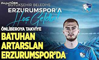 Batuhan Artarslan BB Erzurumspor'da