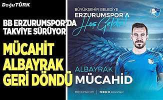 BB Erzurumspor, Mücahid Albayrak'ı kadrosuna kattı
