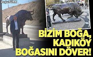 Bizim boğa, Kadıköy boğasını döver!