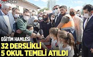 Erzurum eğitimine 32 yeni derslik kazandırıldı