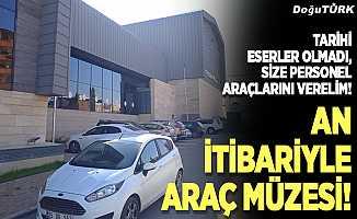 An itibariyle Araç Müzesi!