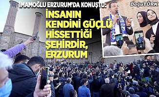 İmamoğlu, Doğu ziyaretini Erzurum'da noktaladı