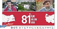 """""""81 İLDE AİLEM VAR"""" PROJESİ ERZURUM'DA HAYAT BULUYOR"""