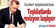 AK PARTİ TEŞKİLATLARINDA REVİZYON!
