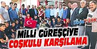 AVRUPA 2.'Sİ ERTÜRK, MEMLEKETİ ERZURUM'DA COŞKUYLA KARŞILANDI