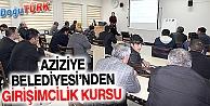 AZİZİYE'DEN ÜRETİM VE İSTİHDAMA DESTEK