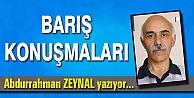 BARIŞ KONUŞMALARI