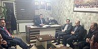BARO'DAN MHP İL BAŞKANI ANATEPE'YE ZİYARET