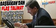 BAŞBAKAN'DAN 'SEÇİME HAZIR OLUN' TALİMATI