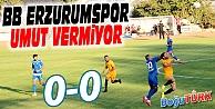 BB ERZURUMSPOR UMUT VERMİYOR