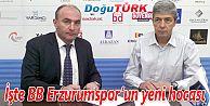 BB ERZURUMSPOR YENİ HOCAYLA ANLAŞTI