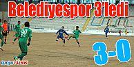 BELEDİYESPOR ZAYIF RAKİBİNİ 3'LEDİ