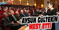 BÜYÜKŞEHİR BELEDİYESİ'NDEN AYSUN GÜLTEKİN KONSERİ