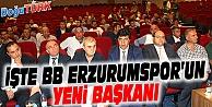 DEMİRHAN, BB ERZURUMSPOR KULÜP BAŞKANI SEÇİLDİ