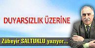 DUYARSIZLIK ÜZERİNE