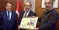 ER-VAK'TAN EMEKLİ SUBAYLAR DERNEĞİNE ZİYARET