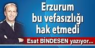 Erzurum bu vefasızlığı hak etmedi