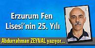 Erzurum Fen Lisesinin 25. Yılı
