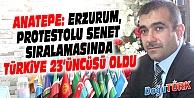 ERZURUM, PROTESTOLU SENET SIRALAMASINDA TÜRKİYE 23'ÜNCÜSÜ OLDU
