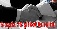 ERZURUM'DA 6 AYDA 75 ŞİRKET KURULDU