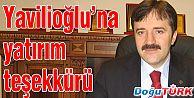 ESTP'DEN YAVİLİOĞLU'NA YATIRIM TEŞEKKÜRÜ