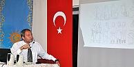 """GÜNEŞ VAKFI'NDA """"GÖKTÜRKLERDE GÖMÜ ADETLERİ"""" KONFERANSI"""