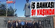 İŞ BANKASI 91. KURULUŞ YILDÖNÜMÜNÜ KUTLUYOR