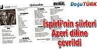 İSPİRLİ'NİN ŞİİRLERİ AZERBAYCAN TÜRKÇESİNDE