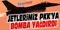 JETLERİMİZ PKK'YA BOMBA YAĞDIRDI!