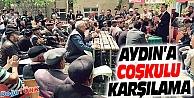 KAMİL AYDIN'A BAKAN GİBİ KARŞILAMA
