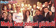 MEDYA SANAT POLİSLERİ GÜLDÜRDÜ